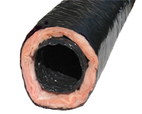 "3"" Flex Tubing - 25' Insulated (UL Listed)"