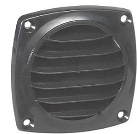 "Grill for 3"" Round Opening - ABS Surface Mount"
