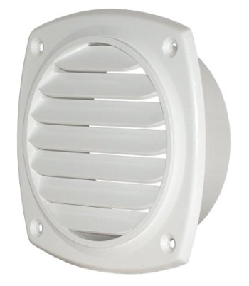 "Grill for 4"" Round Opening - ABS Insert Mount"