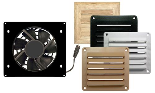 Cool Components: Cabinet Cooling & Cabinet Venting for Hot Home ...