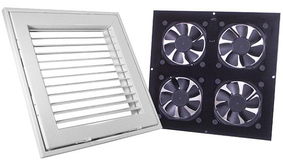 Ceiling Vent System Grill Assembly Amp Fan Unit