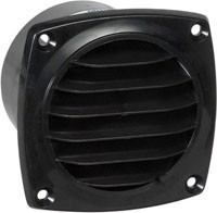 "Grill for 3"" Round Opening - ABS Insert Mount"
